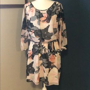Vince Camuto pink/gray dress